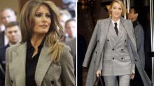 From Melania to Miley, celebrities photographed wearing the same outfit