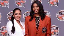 Watch Natalia Bryant put on Kobe's Hall of Fame jacket