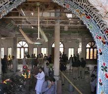 Bomb at seminary in Pakistan kills 8 students, wounds 136