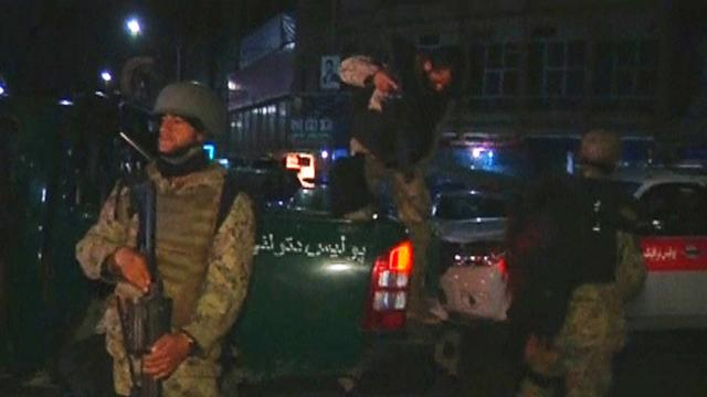 Foreigners among nine killed in hotel shooting in Afghanistan