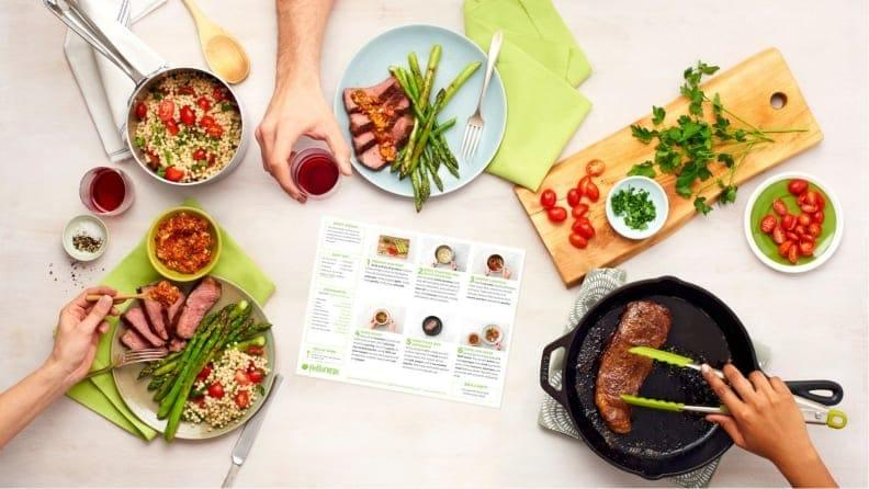 HelloFresh is one of our favorite meal delivery kits—and it's nearly $100  off