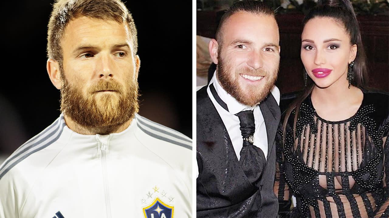 Footballer released over wife's 'unacceptable' racist posts