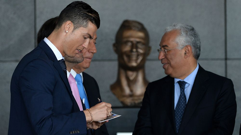 Ronaldo liked the bust (once the wrinkles were smoothed out!) – ridiculed sculptor reveals all