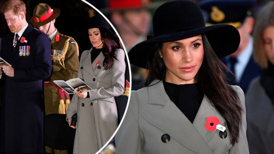 Meghan Markle honours Anzac Day at her first Dawn Service