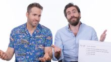 Ryan Reynolds and Jake Gyllenhaal answer the questions the internet REALLY needs to know