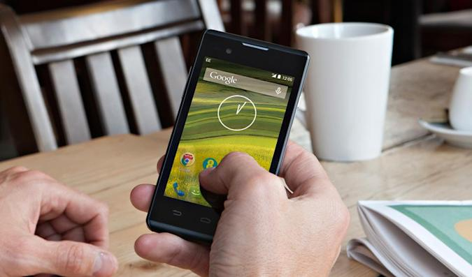 EE's Rook is a £49 4G smartphone for pay-as-you-go punters