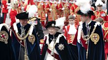 What is the royal Order of the Garter ceremony?
