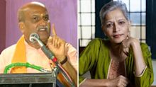 Ram Sene Chief Likens Gauri Lankesh's Murder to Dog's Death