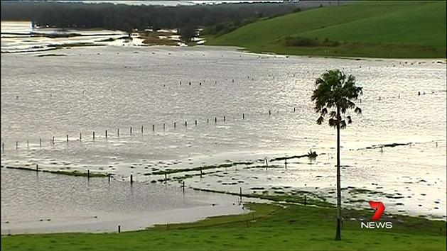 NSW homes on flood watch