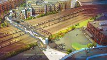 The proposed Gulch-SoBro pedestrian bridge is still stuck in the station