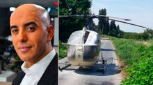 Notorious French gangster on the run after escaping from Paris prison in a helicopter