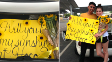 Teen invited his crush to the Homecoming dance in the sweetest way
