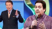 Silvio Santos chama Faustão de mentiroso e questiona salário do apresentador
