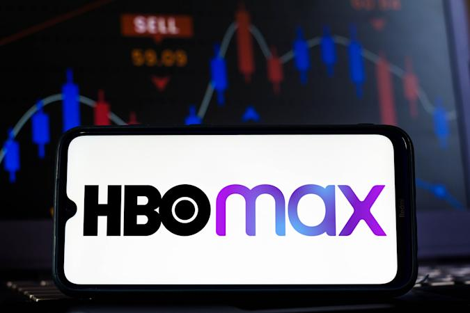 BRAZIL - 2021/02/12: In this photo illustration the HBO Max logo seen displayed on a smartphone screen. (Photo Illustration by Rafael Henrique/SOPA Images/LightRocket via Getty Images)