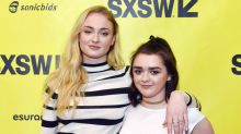 Maisie Williams's Reaction to Sophie Turner's Engagement Will Hit You Right in the Feels
