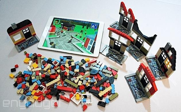 Lego Fusion lets you build virtual playgrounds with real-world bricks