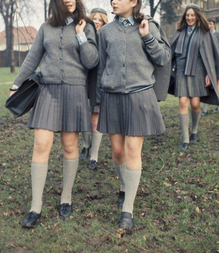 87ada3e71968dd These skirts are too short, according to one school in Victoria, Australia.  (