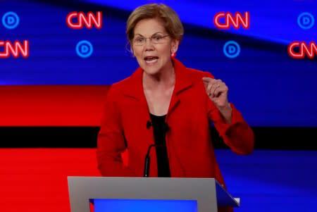 Elizabeth Warren proposes 'public option for broadband'