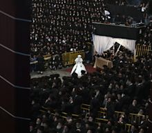 A Hasidic Jewish wedding in New York that expected 10,000 guests is stopped by New York officials over coronavirus infection fears