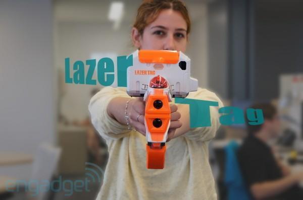 Hasbro Lazer Tag hands-on (video)
