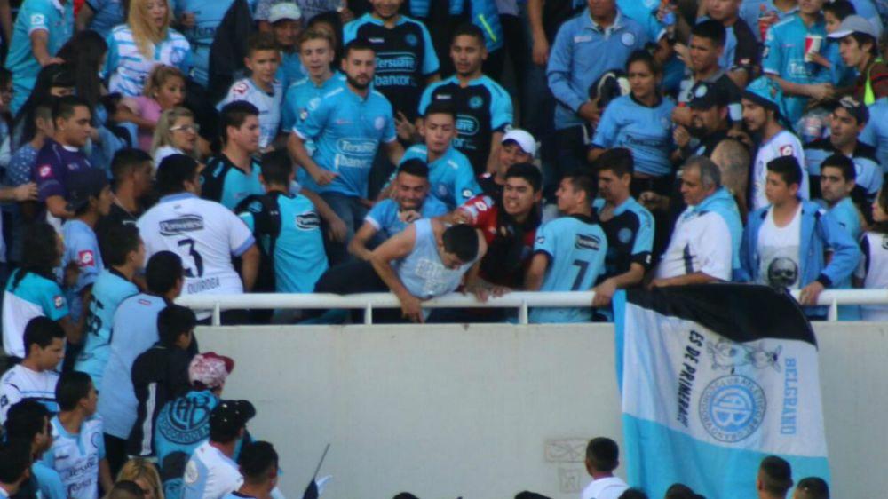 Falleció Emanuel Balbo, el hincha de Belgrano arrojado de la tribuna