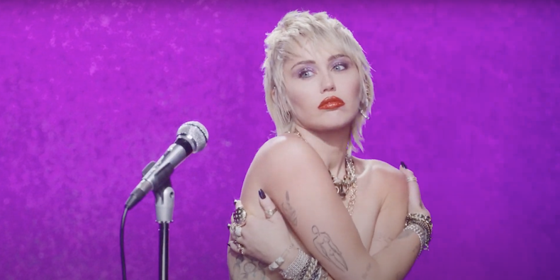 """Miley Cyrus Shares Video for New Song """"Midnight Sky"""": Watch"""