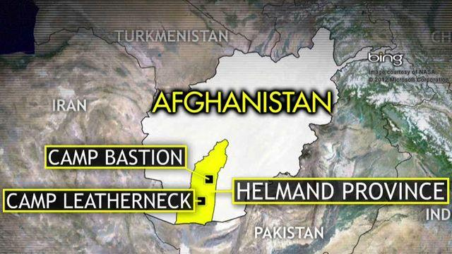 Deadly attack on Afghan base as Marines head to Sudan