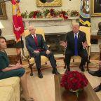Chuck Schumer calls Pres. Trump's wall threat 'temper tantrum'