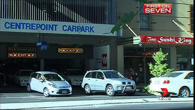 Shoppers trapped in car park