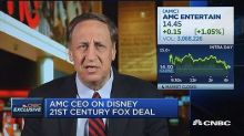 AMC Entertainment CEO on media industry mergers