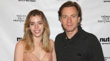 'I want to be an actress': Ewan McGregor's daughter Clara admits she wants to follow in her father's footsteps as she attends Zoe premiere