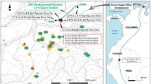 Max Resource Reports 4.3% Copper and 26 g/t Silver Over 3m by 3m at Cesar Copper-Silver Project in Colombia