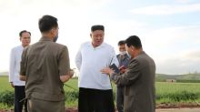 North Korea's Kim to reconsider year-end projects in wake of typhoon damage: state media