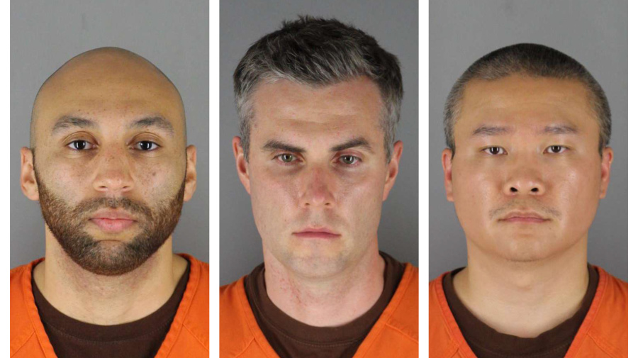 Bail set for 3 ex-officers accused in Floyd death