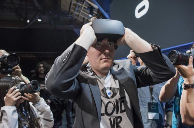 Palmer Luckey skipped the Oculus event to avoid being a 'distraction'