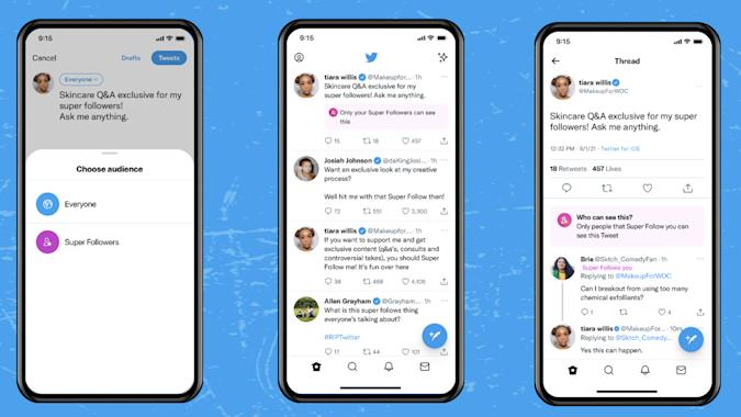 Twitter is opening up Super Follow subscriptions to some creators.