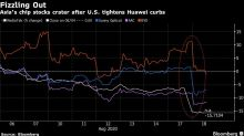 Deepening Huawei Curbs Send Asian Chipmakers Plunging