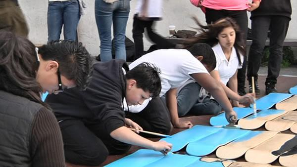 Teens put finishing touches on 'Science of Skateboarding'