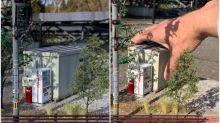 日本超強手藝 迷你模型街景幾可亂真