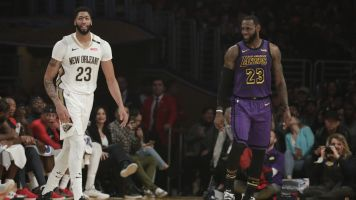 LeBron hype about AD trade: 'Just the beginning'