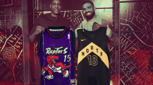 A comprehensive ranking of every Toronto Raptors jersey, ever