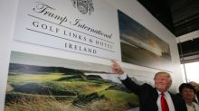 Donald Trump cites global warming dangers in fight to build wall at his Ireland golf course