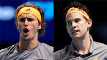 How US Open finalists Dominic Thiem and Alexander Zverev compare statistically