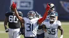 Gostkowski kicks 49-yarder as Titans beat Jaguars 33-30