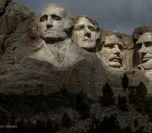 Concern over coronavirus mars Trump's Mount Rushmore trip
