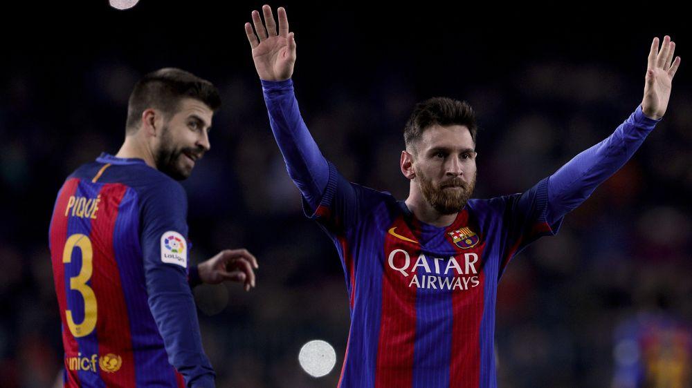 Barcelona: Lionel Messi verschaukelt Pique mit Neymar-Post