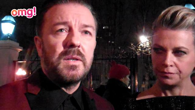 Ricky Gervais reveals he doesn't mind getting weepy