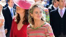Cressida Bonas blogged about the Royal Wedding