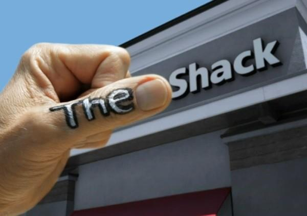 The Shack, short on money for new signs, asks for your help