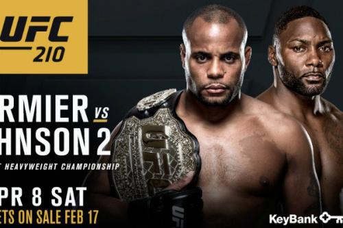 Cormier e Johnson farão a luta principal do UFC 2010 - Reprodução/Instagram
